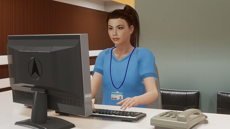 Role of Virtual Humans in Healthcare Simulations
